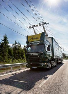 Weltweit erste elektrische Autobahn in Schweden eröffnet