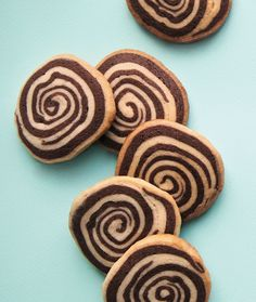 Chocolate–Vanilla Bean Pinwheels look like a cookie that took hours, but they're super easy to make—and super lovely to eat!