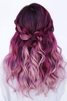 Pink Ombre Hair for the Sunniest Ladies. It's a great choice for women whose hair is long or medium-length and who would like their look to be feminine.