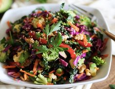 The Ultimate Detox Salad How to Detox the Healthy Way: 16 Recipes Youll Love Easy Detox, Healthy Detox, Detox Foods, Healthy Salads, Healthy Life, Clean Eating Recipes, Healthy Eating, Salad Recipes, Healthy Recipes