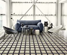Collection Navone. Carreaux B&W. ©Bisazza