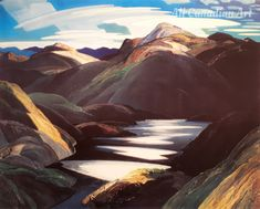 Light and Shadow Group Of Seven Paintings, Franklin Carmichael, Canadian Artists, World Famous, Light And Shadow, Landscapes, Company Logo, Artwork, Image