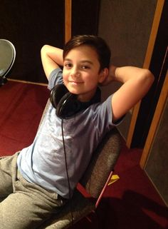 """Meet Aden Schwartz who plays young Whit in the OAC episode, """"The Journal of John Avery Whittaker"""""""