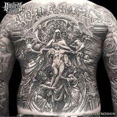 Incríveis tatuagens em preto e cinza – Onde as cores não fazem falta | Tinta na Pele