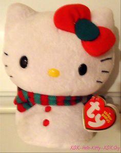 Peluche hello kitty de noel pinterest - Hello kitty noel ...