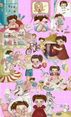 Fashion, wallpapers, quotes, celebrities and so much Melanie Martinez Style, Melanie Martinez Drawings, Crybaby Melanie Martinez, Cry Baby Storybook, Sending Love And Light, Kids Z, Hippie Art, Aesthetic Themes, Album Covers