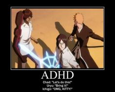 Anime motivational posters. funny moments. Bleach. manga