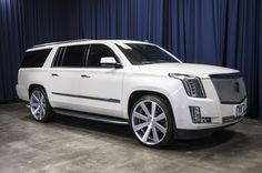 Used 2015 Cadillac Escalade ESV Premium with miles at Northwest Motorsport in Puyallup, WA. Buy a used White Cadillac Escalade. Escalade Esv, Cadillac Escalade, Suv For Sale, Fairy Doors, My Ride, Cars And Motorcycles, Luxury Cars, Dream Cars, 4x4