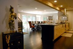 House renovation: love the before and after pictures. eclectic kitchen by Kara Mosher