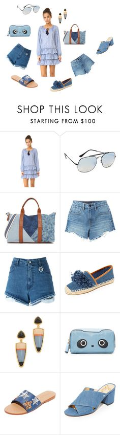 """Modalist Fashion"" by emmamegan-5678 ❤ liked on Polyvore featuring Misa, Ray-Ban, Splendid, Alexander Wang, GCDS, Tory Burch, Lizzie Fortunato, Anya Hindmarch, Mystique and Sam Edelman"