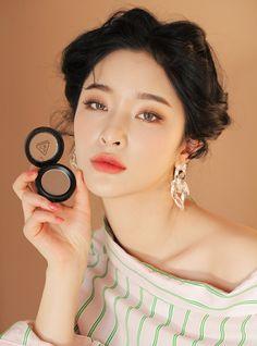 Fresh Face Makeup, Sweet Makeup, Skin Makeup, Stylenanda Makeup, Byun Jungha, 3ce, Beauty Dupes, Korean Makeup, Makeup Looks