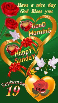 Good Morning Happy Sunday, Good Morning Flowers, Good Morning Greetings, Christmas Bulbs, Christmas Light Bulbs