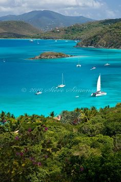 Cinnamon Bay, St. John.Virgin Islands National Park © Steve Simonsen