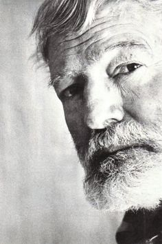 Ernest Hemingway ... one day, I make a picture like this!