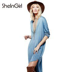 3edc58cc6f7d37 USA &AUSTRALIA Dresses Length: Knee-Length Silhouette: Straight Sleeve  Length(cm): Three Quarter Neckline: V-Neck Material: Spande Waistline:  Natural Sleeve ...