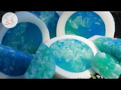Easy Rimmed Melt and Pour Soap Tutorial - Glycerin Soap Making DIY for Beginners - YouTube
