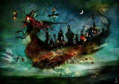 Alexander Jansson A wild Halloween