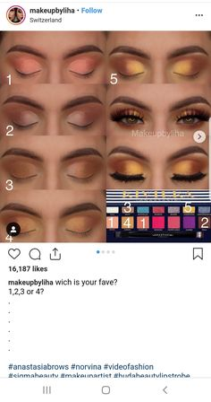 Makeup looks – Lush Makeup Ideas Eyebrow Makeup Tips, Makeup Eye Looks, Eye Makeup Steps, Makeup 101, Cute Makeup, Makeup Inspo, Eyeshadow Makeup, Makeup Cosmetics, Makeup Products