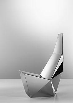 QTZ Lounge Chair Concept by Alexander Lotersztain for Derlot