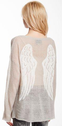 Angel wings jumper