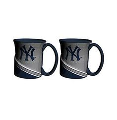Boelter Brands MLB® New York Yankees 2-Pack Twist Mugs