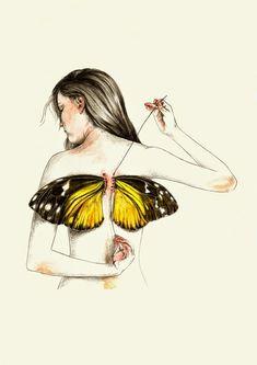 Illustration by Lucy Salgado | http://ineedaguide.blogspot.com/2015/03/lucy-salgado.html | #illustrations #drawings