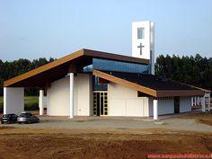 La nuova chiesa al termine