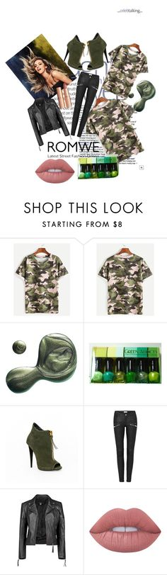 """""""Untitled #40"""" by littlemaya5 ❤ liked on Polyvore featuring Illamasqua, Boohoo, Lime Crime and Charlotte Tilbury"""