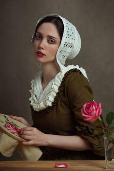 """Deja vu"" by photographer Mohammadreza Rezania Art Photography Portrait, Fantasy Photography, Portrait Art, Portrait Photography, Moda Lolita, Creative Portraits, Portrait Inspiration, Female Portrait, Girl Face"