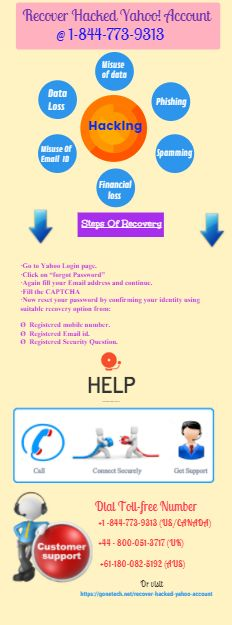 If your Y! mail account is hacked and you are looking for a recovery option give it a view. #recoverhackedyahooaccount