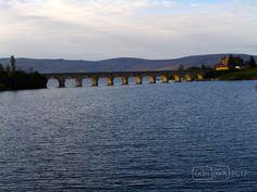Puente sobre el Pantano del Ebro a su paso por Arija