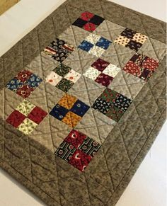A little quilt from Temecula Quilt Company called Summer Simplicity.