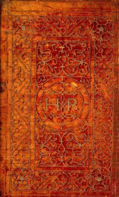 The British Library - Database of Bookbindings - Full Image. Henry VIII, King of England (1491-1547) Title: Biblia, Sacrosancta Testamenti Veteris & Noui. Place of Publication Tiguri, 1543. Velvet cover. See W Y Fletcher, English Bookbindings in the British Museum, London, 1895, pl xi. More info at http://www.bl.uk/catalogues/bookbindings/LargeImage.aspx?RecordId=020-000000594=ImageId=39902=BL