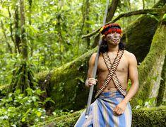 Achuar Warrior - Ecuador | Lisa Kristine Fine Art Photography