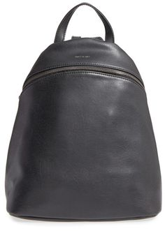 f44c60dc6a6e Matt   Nat  Aries  Faux Leather Backpack - Black. NocNoc · Backpacks