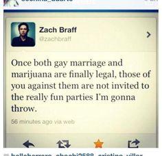 Zach Braff, you're awesome