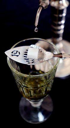 vintage absinthe spoon