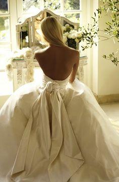 beautiful. backless dress