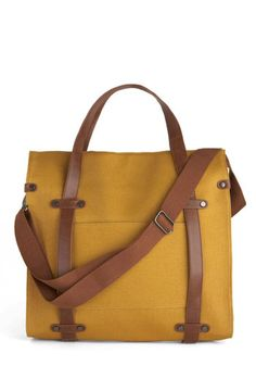 Camp Director Tote in Camel - Yellow, Brown, Pockets, Casual, Work, Press Placement, Travel, Best Seller, Graduation, Gals, Top Rated, Fall
