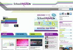 schoolsworld cientos de videos educativos clasificados por nivel y materia