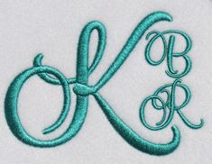 Miami Script Embroidery Font | Apex Embroidery Designs, Monogram Fonts & Alphabets