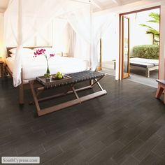 Yacht Club Bridge Deck featured on the Wood Look Tile page from South Cypress.  #beach house
