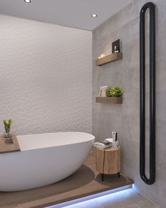 Houten accessoires geven je badkamer warmte! #handige #boxen #opruimen #stoere #badplank #wood #badkamer