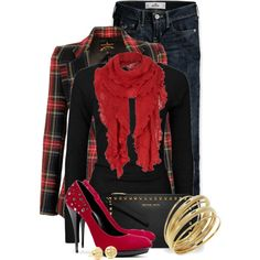 """""""Studded w/Perfection"""" by colierollers on Polyvore"""