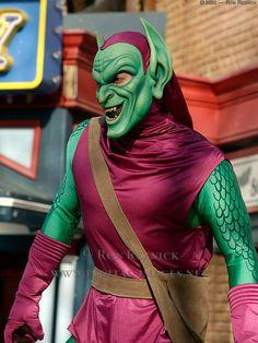 Green goblin adult costume