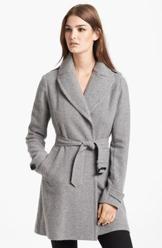 Burberry London Sweater Knit Cashmere Coat available at #Nordstrom