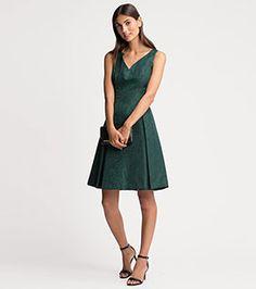 Kleid in der Farbe dunkelgrün bei C&A