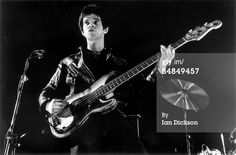 Jean Jacques Burnel - 1977 (Ian Dickson Collection)