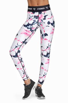 273f23a336 Orchid by Roxy tights Yoga Leggings, Floral Leggings, Tight Leggings,  Leggings Are Not