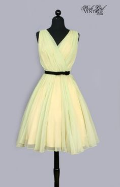 VINTAGE DRESSES & CLOTHING: 1920's to the 1980's